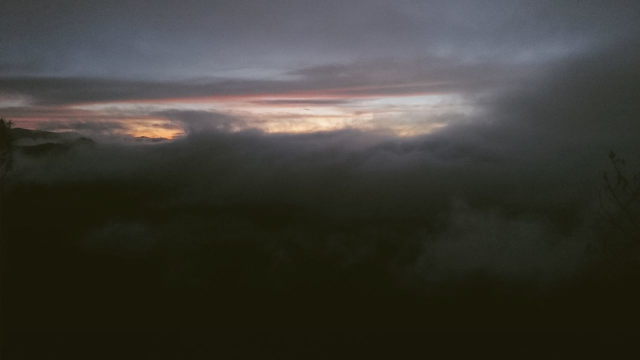 cloud - sky, nature, beauty in nature, sky, majestic, tranquility, tranquil scene, scenics, cloudscape, idyllic, outdoors, no people, sky only, sunset, low angle view, awe, ethereal, backgrounds, storm cloud, day, astronomy