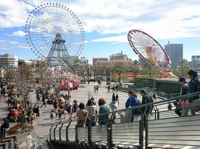 みなとみらい Yokohama Sunday Walk Walking Around Street Photography 遊園地 Amusementpark Enjoying Life People People Watching People Photography Urban Landscape Urban Lifestyle Street Snaps Showcase: January