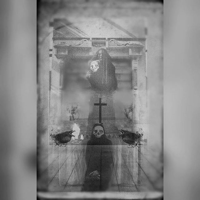 Digitalart  Photomanipulation Darkart Gothicart Skulls Victorian Blackandwhite