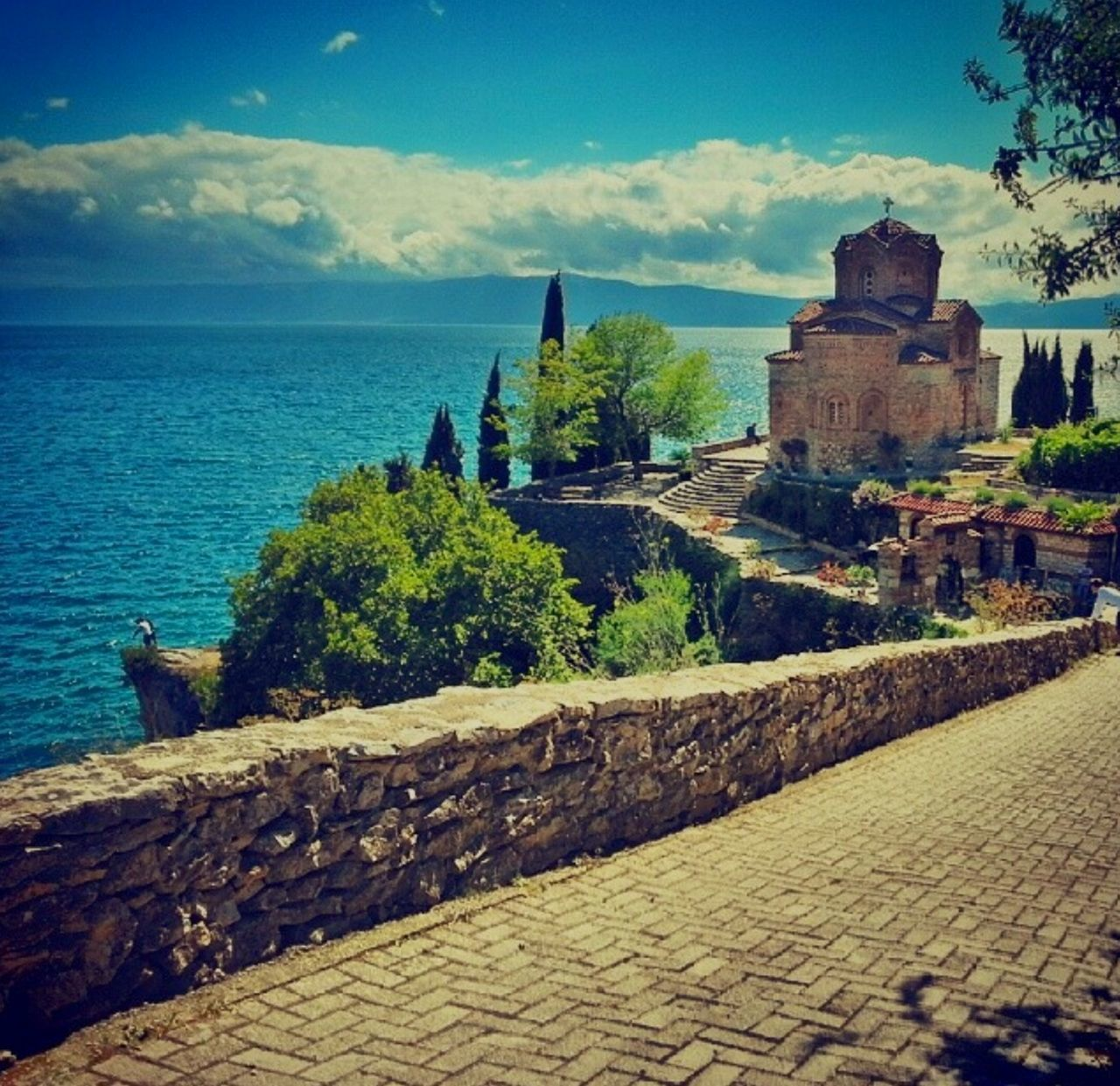 St. Jovan Kaneo Kaneo Macedonia Macedonie Ohrid Ohrid Lake Church Kerk Neighborhood Map