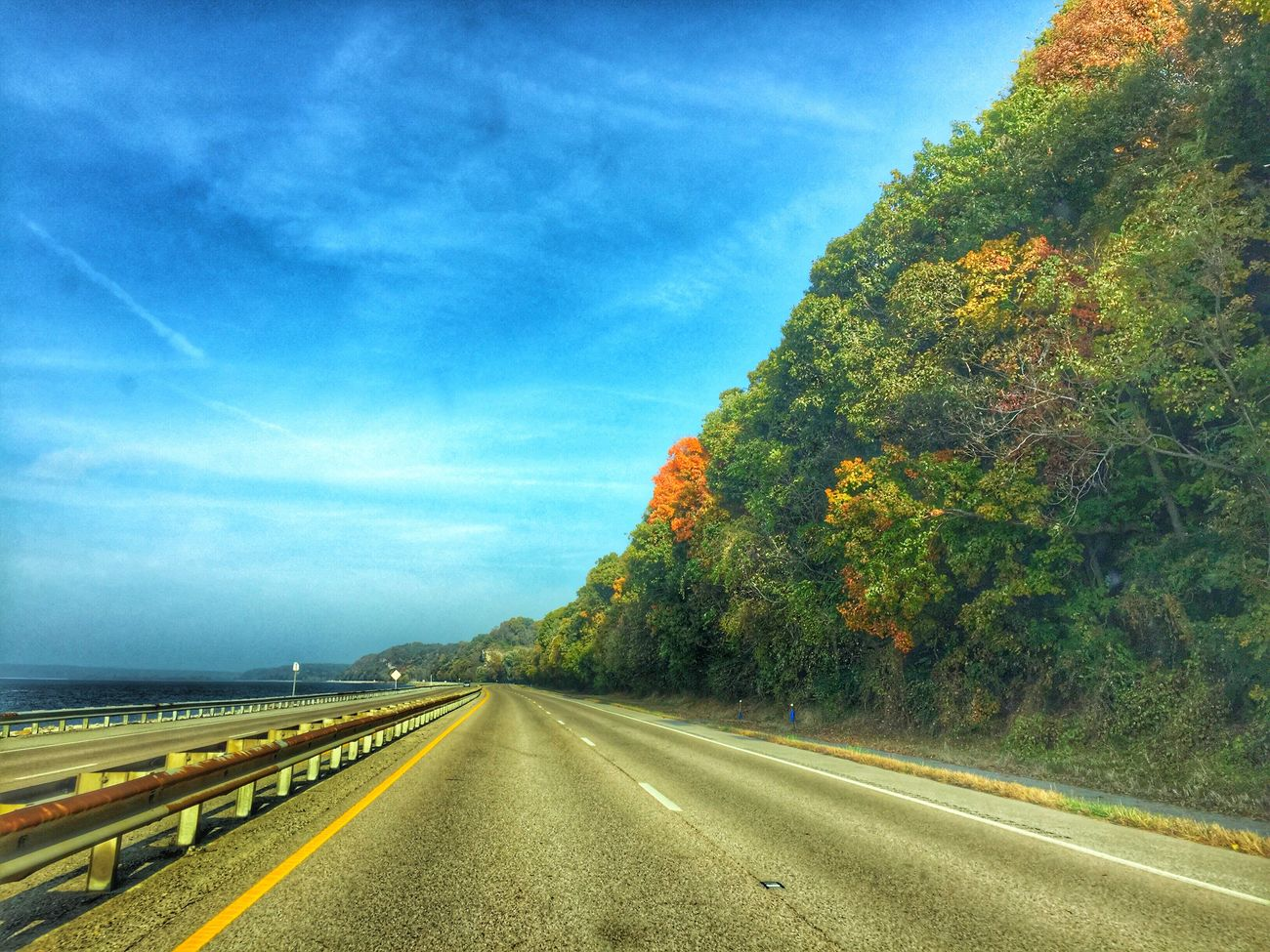 Happy Friday! Road Sky Beauty In Nature Illinois