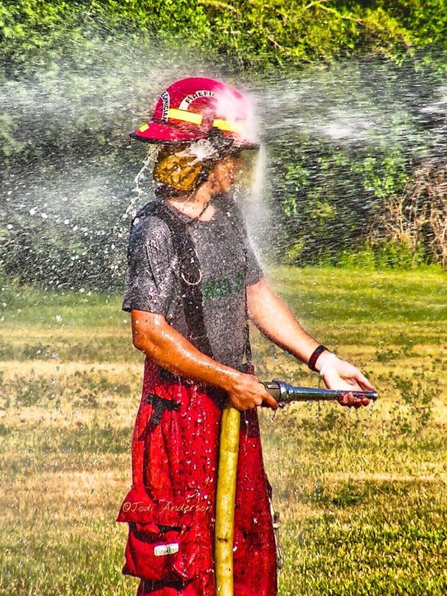 Firefighter Firefighters Firefighter Swag FireFighting  Firefighter Stuff Firefighter Helmet Playing Playing With Water Water Spray Fire Hose Hdr_Collection Firefighter_collection Bunker Pants