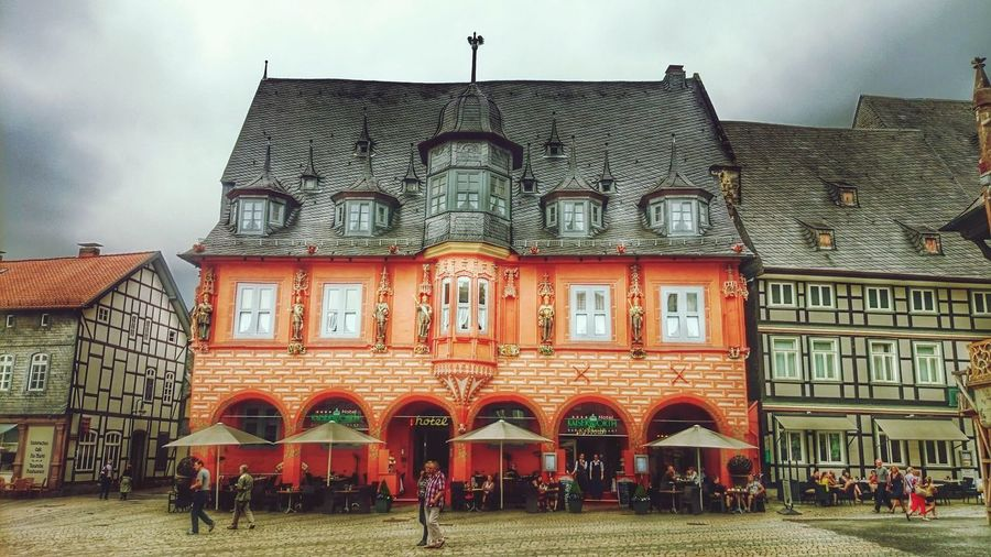 Old Hotel 'Kaiserworth' in Altstadt Goslar. Street View in Hdr Edit. The Harz in GERMANY🇩🇪DEUTSCHERLAND@ is where Hänsel und Gretel live 😀