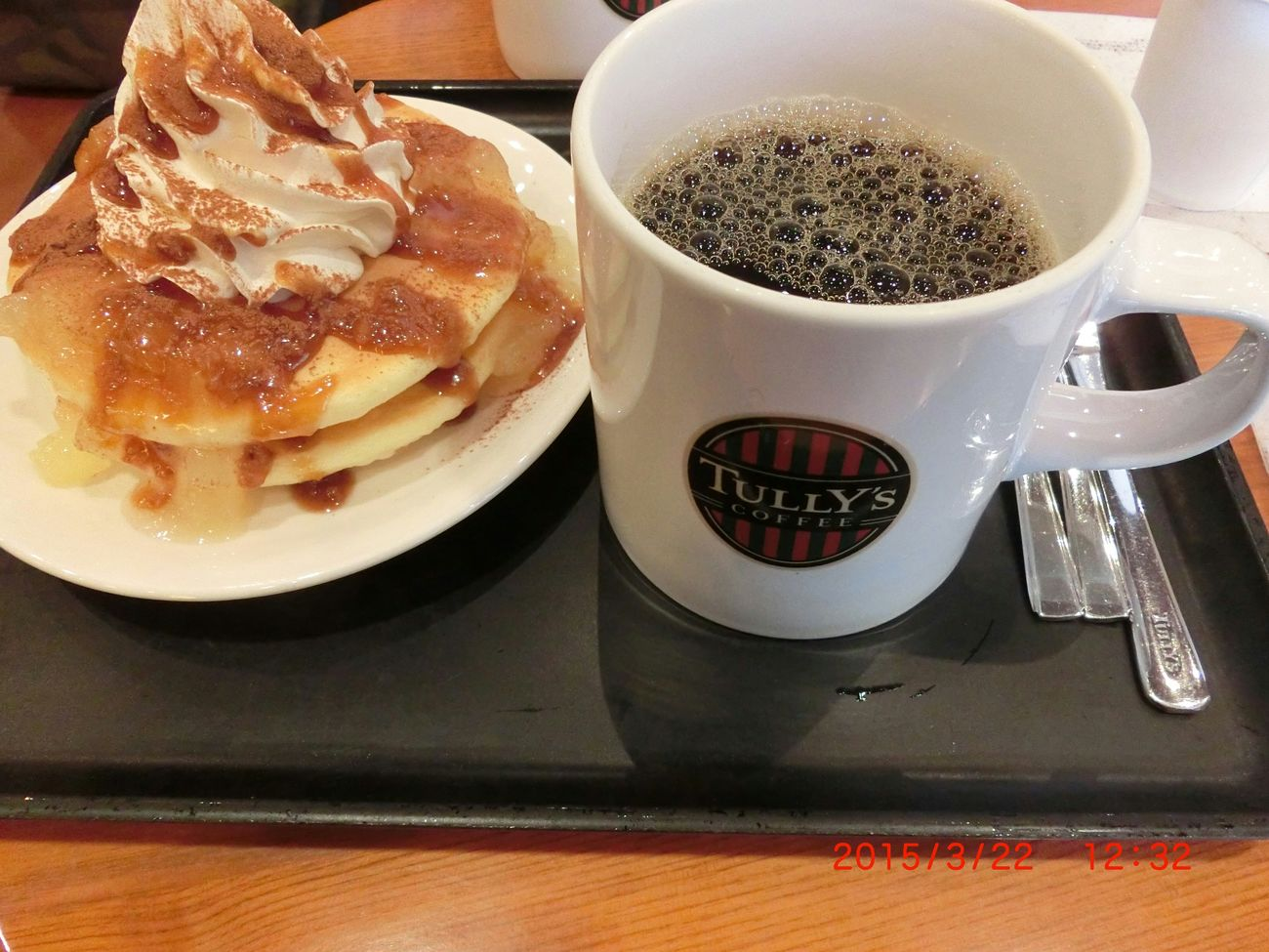 Pancake Time Coffee Time Tully's