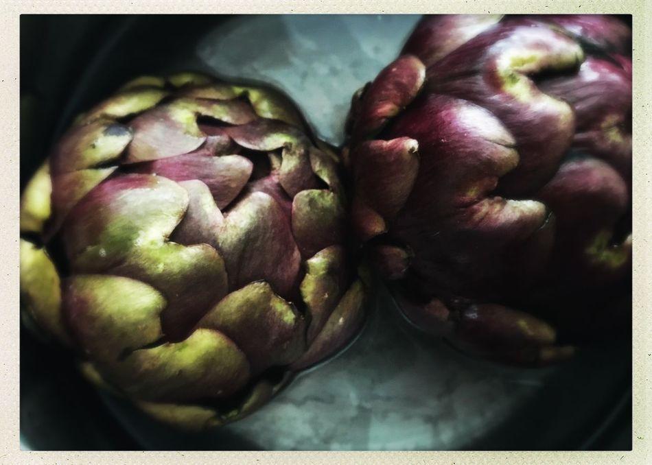 Artichoke Green Purple Deep Purple Vegtable Food Cooking Dinner Lunch Home Cooking Simple To Make