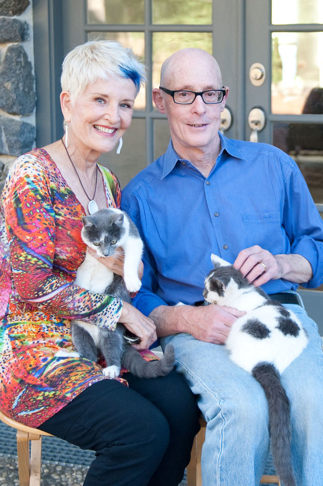 Portrait of an older couple holding their cats. Animal Themes Blue Hair Cat Domestic Animals Domestic Cat Feline Front View Happiness Hipster Senior Holding Looking At Camera Mammal Older Couple Older Couple Holding Cats Pets Portrait Relaxation Senior Couple Seniors Sitting Togetherness Whisker Blue Wave The Portraitist - 2016 EyeEm Awards Colour Of Life