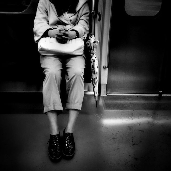 Streetphotography Street Photography Train Monochrome
