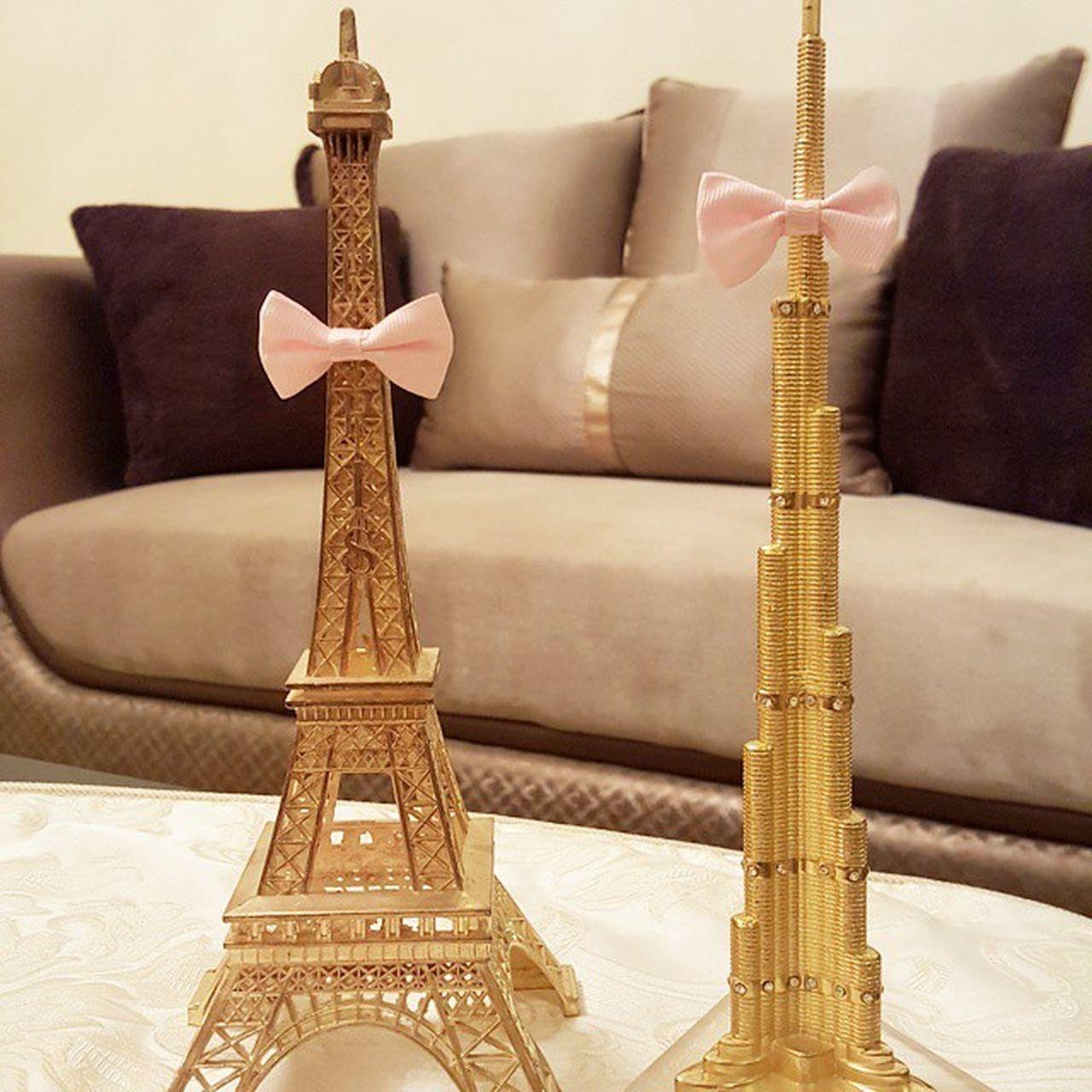 Efil_tower & KhalifaTower @natgeo Byme