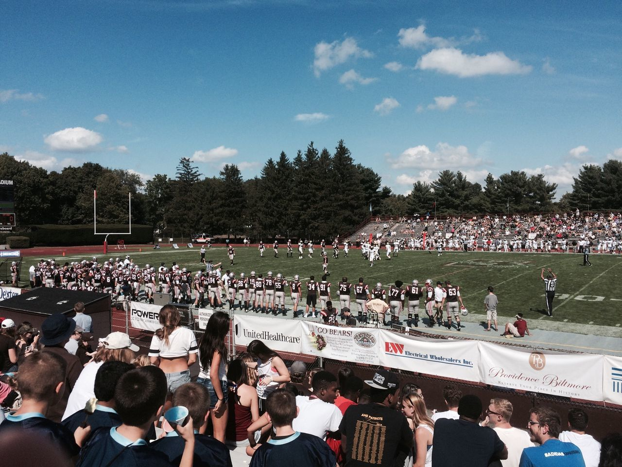 Football Brown University Game Sports Crowd