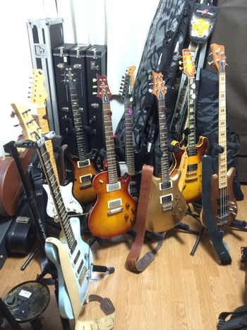 My guitars :) My Guitar Guitar PRS
