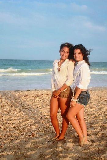 Con Mila, mi querida amiga La Caracola #isla De Margarita SesionDeFotos