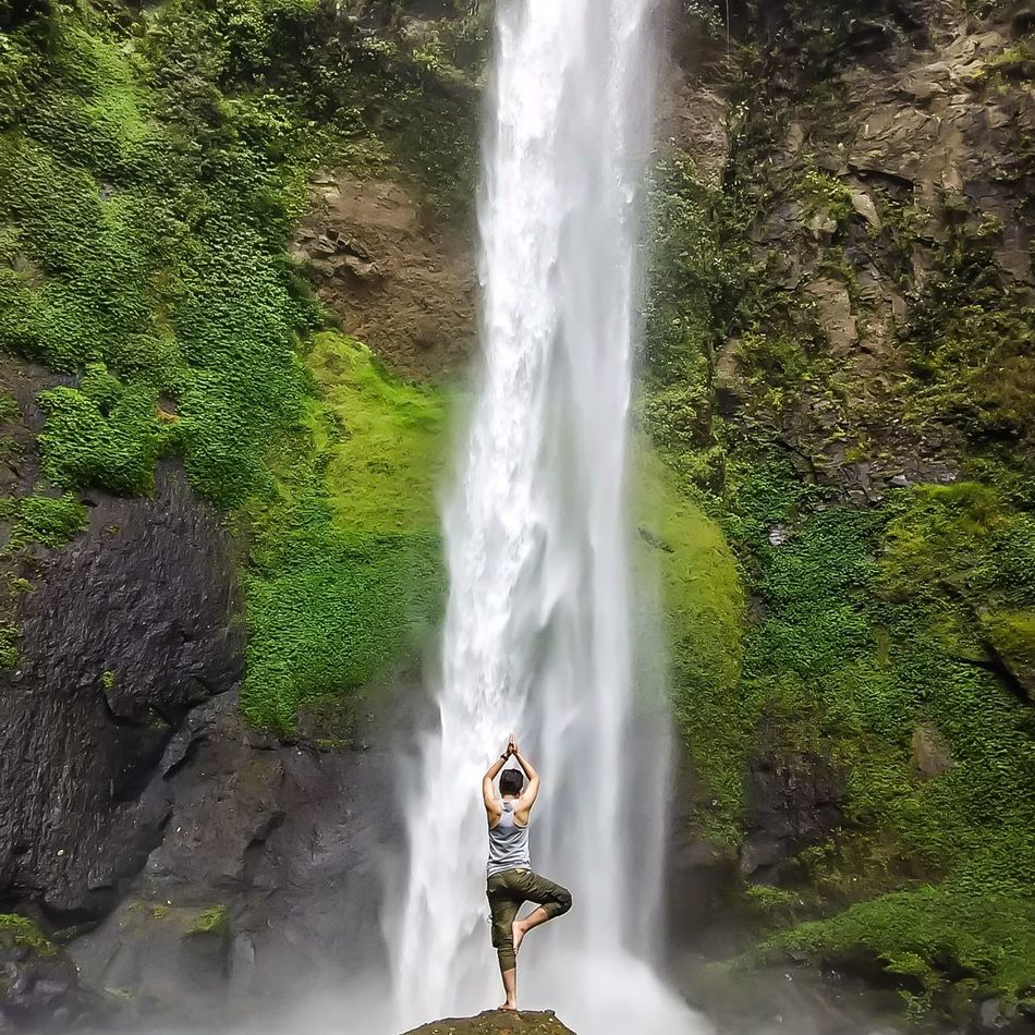 Beautiful stock photos of yoga, Bandung, Beauty In Nature, Casual Clothing, Concentration