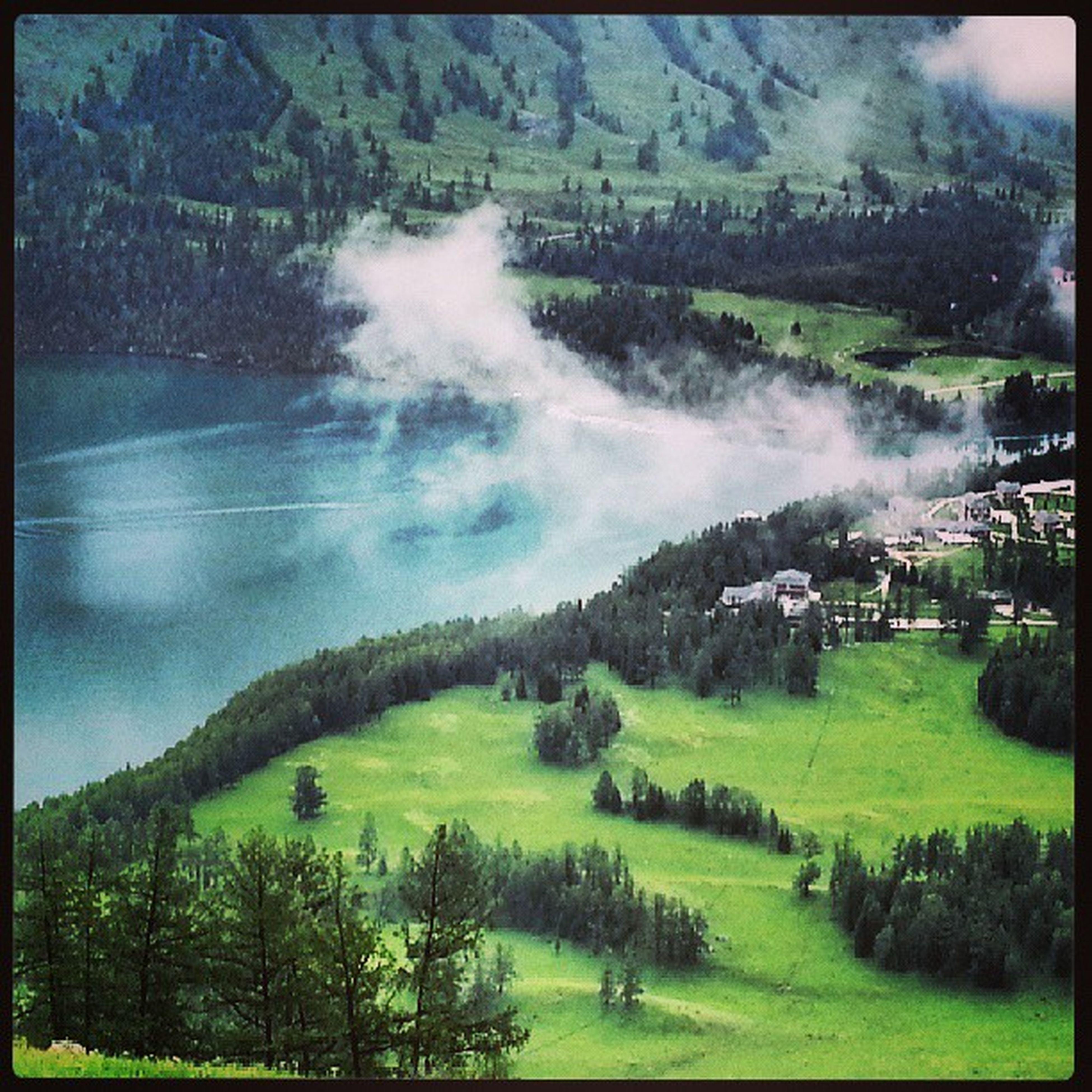 озеро канас урумчи южныйалтай алтай природа nature china
