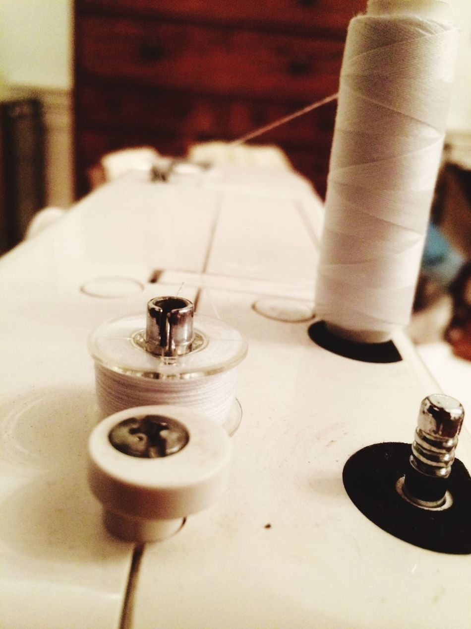 Sewing Machine Bobbin Thread Sewing Stuff Making A Living It's What I Do IPhoneography Sewing