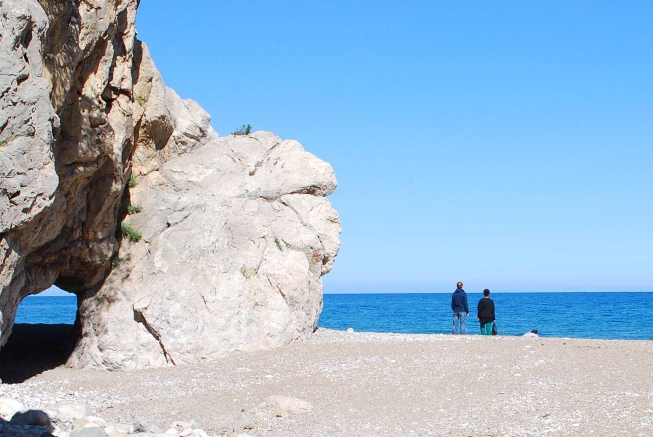 Looking far Taking Photos Antalya Olimpos Beach People Mediterranean  Sea Showcase April The Tourist Turkey Melancholy Travel Akdeniz Deniz The KIOMI Collection Sand
