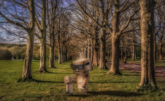 A walk in cassiobury park, using a canon 70d. Then oil paint filter in Photoshop. Taking Photos Enjoying Life First Eyeem Photo