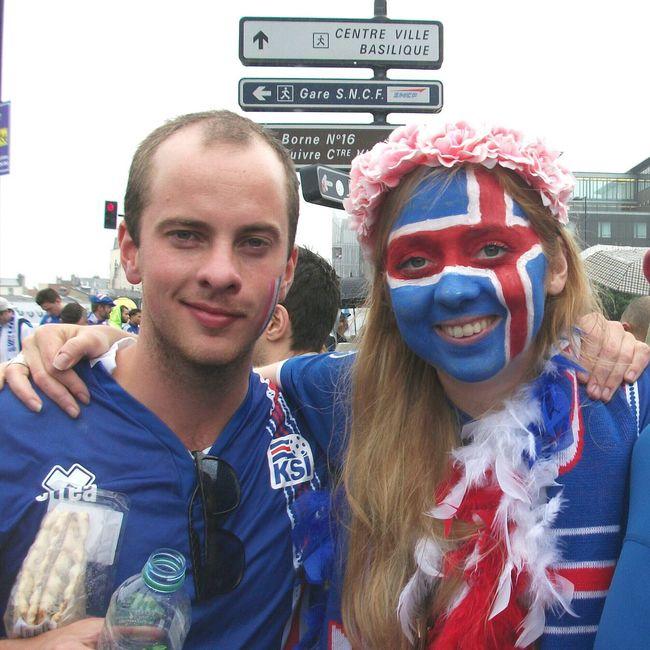 Stade De France Supporters Match Islande France Football