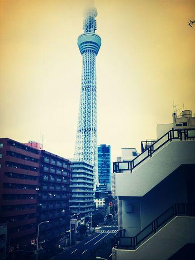 Sky Tree Japan City View  Beautiful ♥