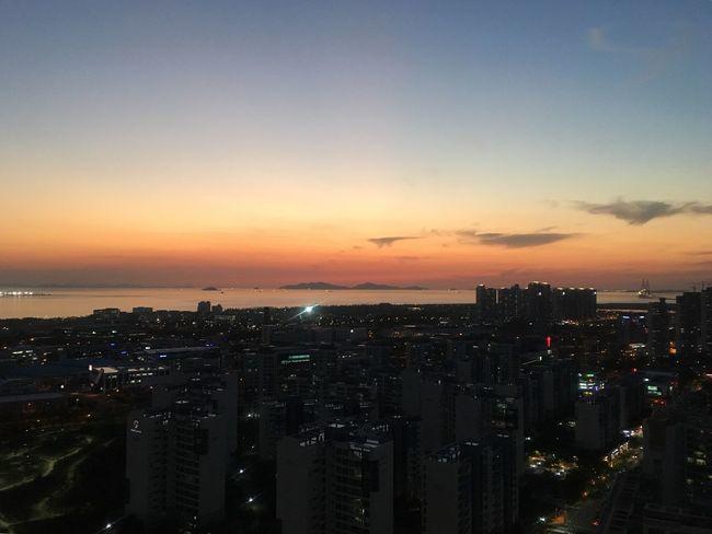 Orange Sky Sunset 🍊