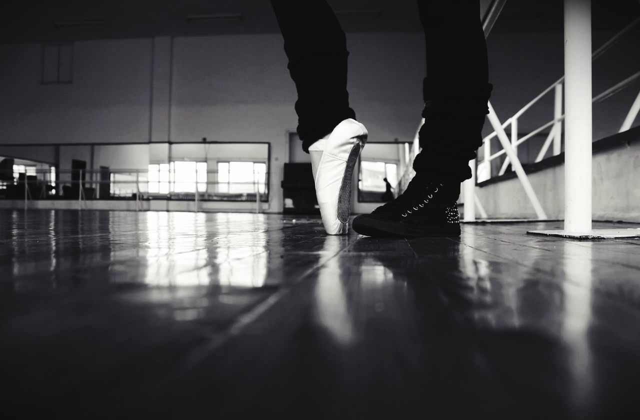 Monochrome Photography Indoors  Flooring Standing Surface Level Walking Selective Focus Floor Ballet Class Ballet Dancer Ballet Time  Ballet Classic BalletSpirit Balletenpointe Ballet Point Shoes Ballet Shoes Decisions Welcome To Black EyeEm Diversity