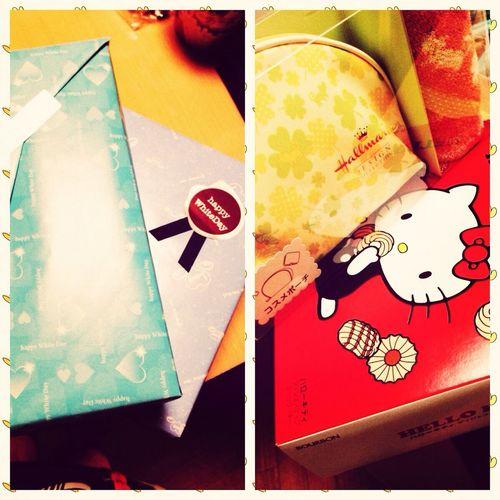 Gifts White Day♡ Gracias mi amor x los regalos :))) love u