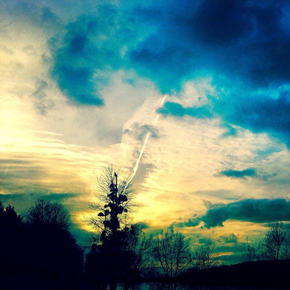 Sunset Sunset Soleil Vscocam