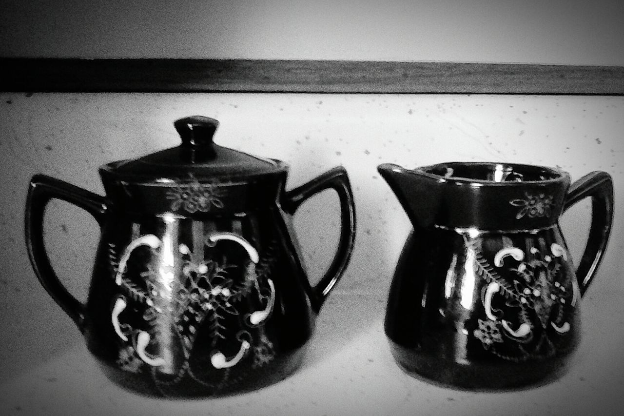 Indoors  Still Life Glass - Material Man Made Object No People Antiques. Antique Perspective Blacknwhite Blackandwhitephoto Blac&white  Black And White Collection!