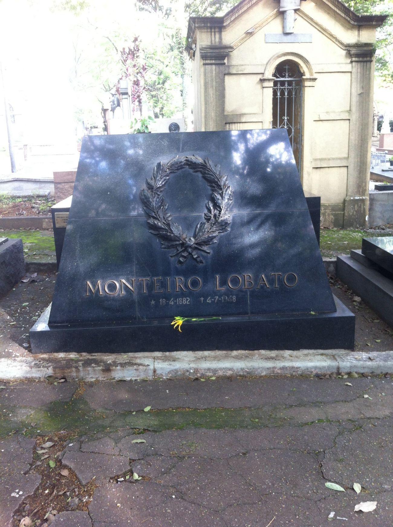 Monteiro Lobato Cemetery Graveyard São Paulo