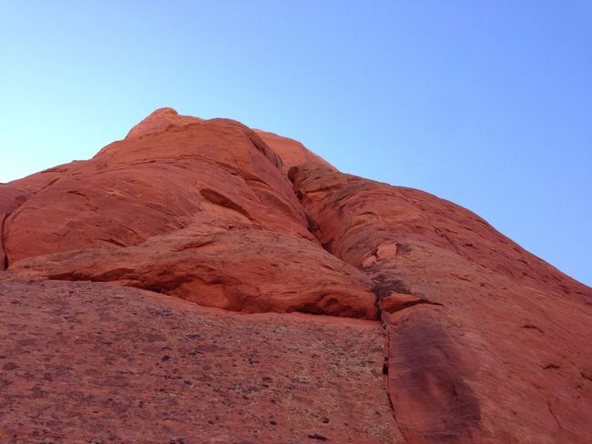 Red Rocks  On A Hike Nature