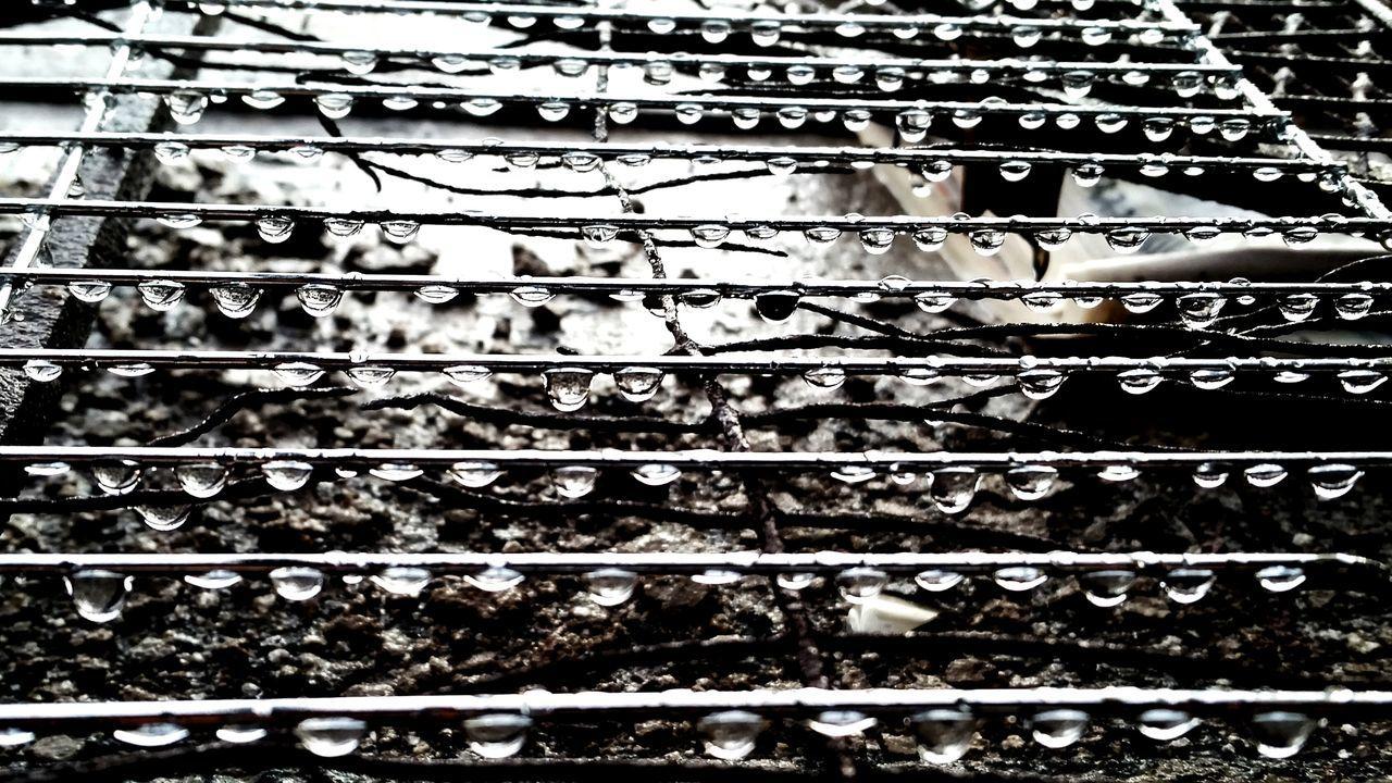 Rain Drops South Africa Sub Urban