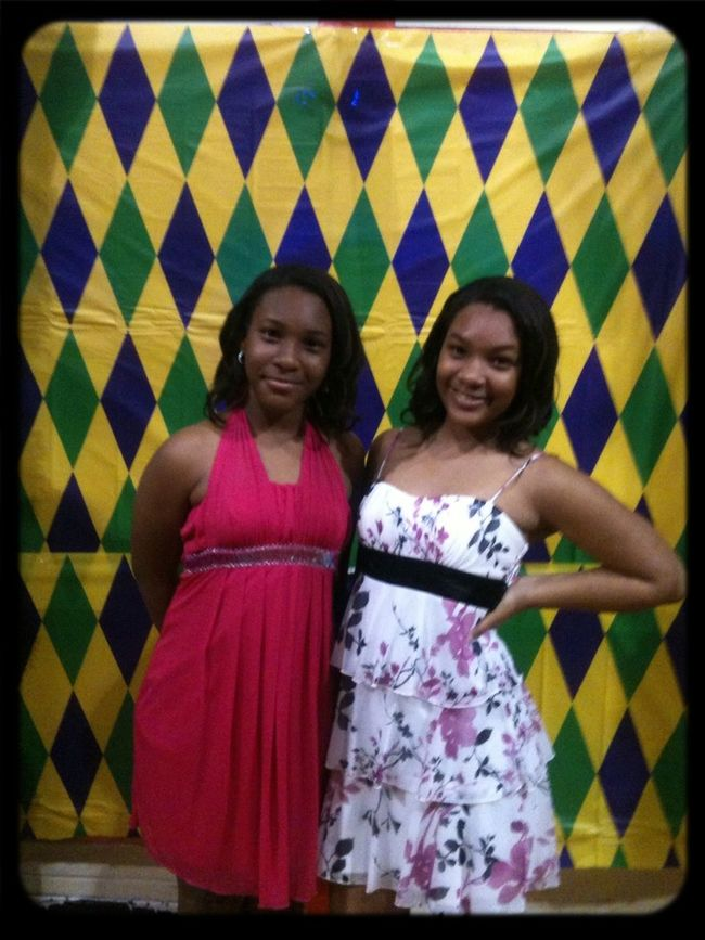 Me And Sis At The Dance The Other Day