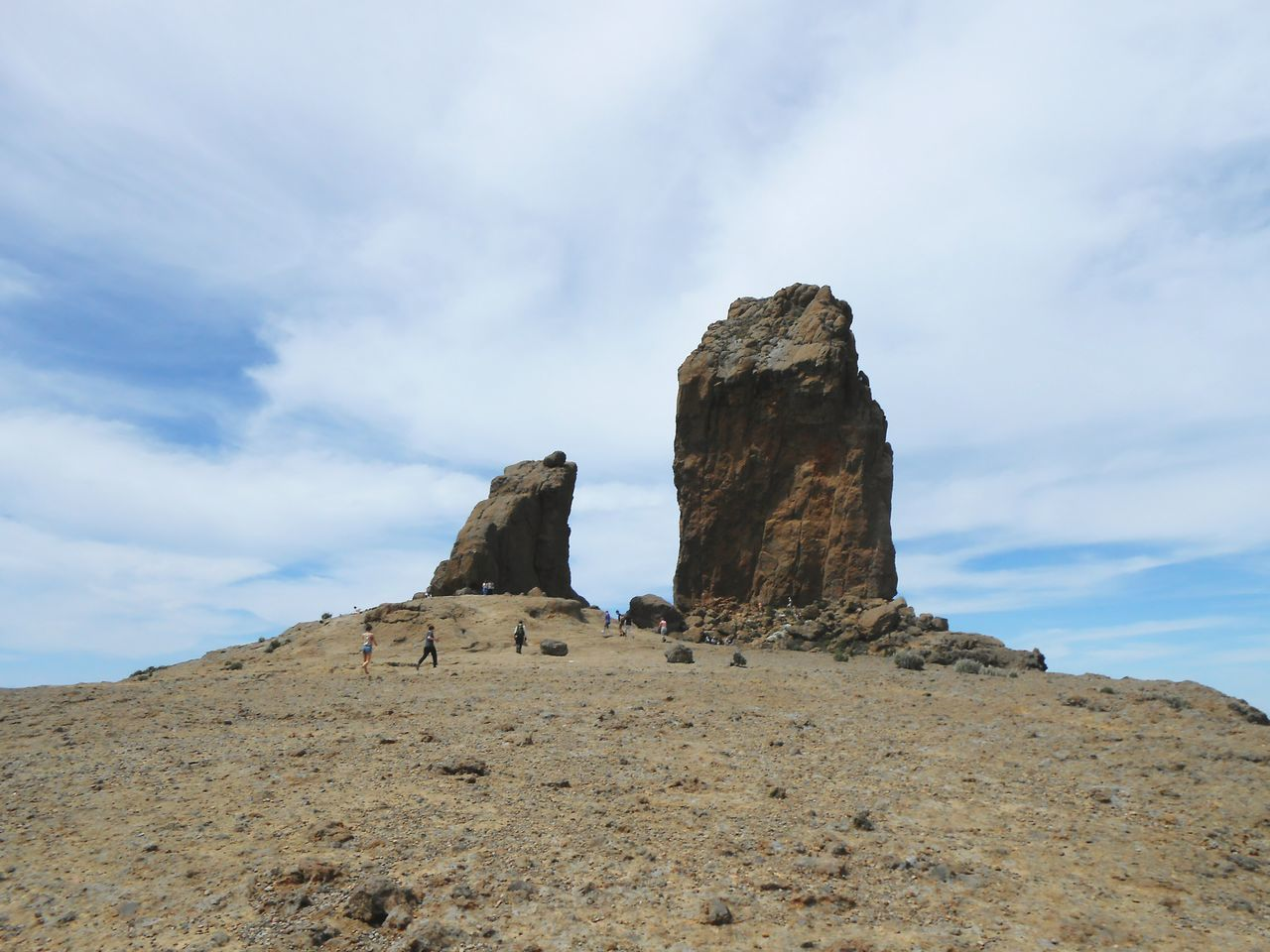 ... Roque Nublo ... Landscape Outdoors Cloud - Sky Mountains Volcanic Landscape Gran Canaria Canary Islands Peak Natural Monument Rock Rocks Standing Stones Peaks Nature Spectacular Vista Travel Tourist Trap Hiking Holidays Vacations Walking Mount Monuments