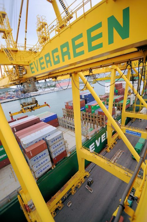 Apron Architecture Bussiness Container Economy Gantry Cranes Gantry Cranes Icd Logistic Logistics Marine Port Portrait Quay Cranes Quay Cranes Quay Gantry Cranes Quay Gantry Cranes Sea Ship Ship Side Top View Transport Vessel World Yard