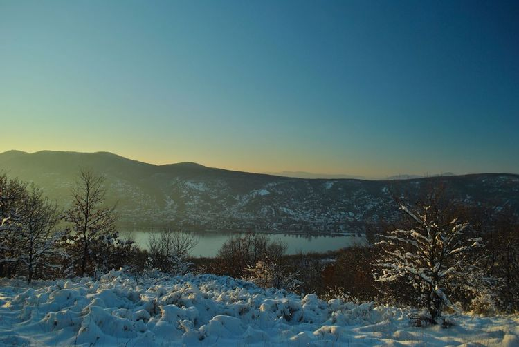 Danube December EyeEmNewHere Frozen Hungary Nature Visegrád-Hungary Winter Wintertime Bare Tree Beauty In Nature Blue Clear Sky Cold Temperature Colorful Day First Day Of December Frozen Frozen Nature Landscape Lovewinter Mountain Mountain Range Nature No People Outdoors Scenics Sky Snow Sunset The First Snow Tranquil Scene Tranquility Tree Valentinamilkovics Weather Winter