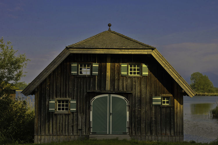 Bootshaus Architecture BootshausAmSee Building Exterior Built Structure Day No People Outdoors Wood - Material