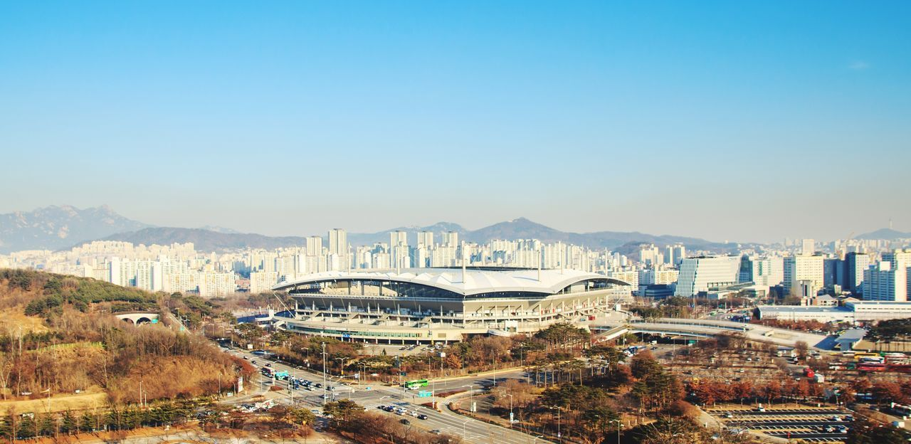 HaneulPark Woldcup2002 Seoul Sangam Worldcup Stadium Soccor Football Cityscape Landscape
