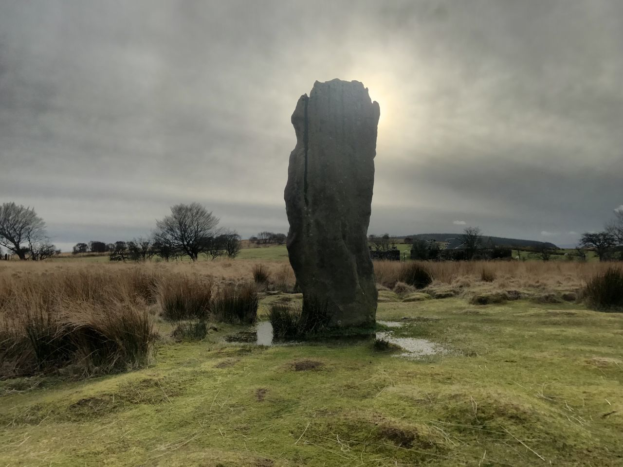 Isle Of Arran  Landscape Scenics Scotland 💕 Scotland Standing Stones Field Grass Scottish Landscape Reflections Nature