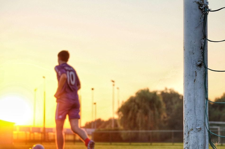 Beautiful stock photos of football, Casual Clothing, Focus On Foreground, Full Length, Leisure Activity
