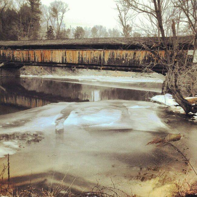 Instachill Instagram Instamood Instafind Instafamous Coverbridge DailyShot 365photosoneadayforayear Dayshots Ice Rivers