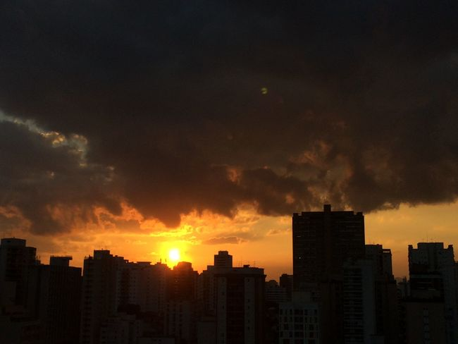 sao paulo BRAZIL 2016 Architecture Building Building Exterior Built Structure City City Life Cityscape Cityscapes Cloud Cloud - Sky Cloudy Dramatic Sky EyeEm Team No People Office Building Orange Color Outdoors Residential Building Residential District Sky Skyscraper Sunset Tall - High Urban Skyline Weather