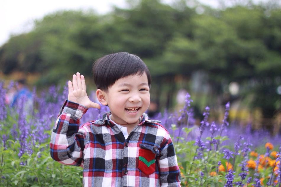 Cute little boy Color Portrait People Watching Enjoying Life