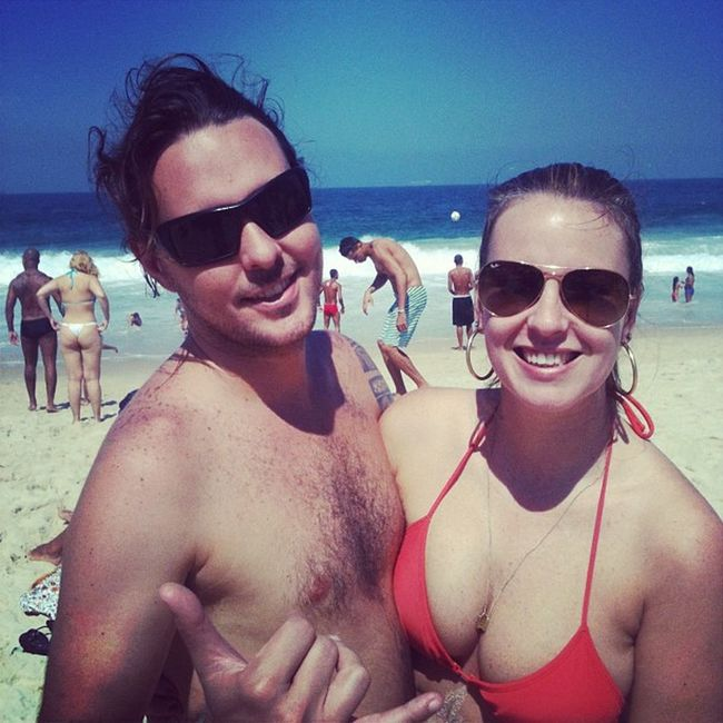Primeiro dia de praiana desde que voltamos.. :)) Riodejaneiro Rioeuamoeucuido Lixonolixorionocoracao