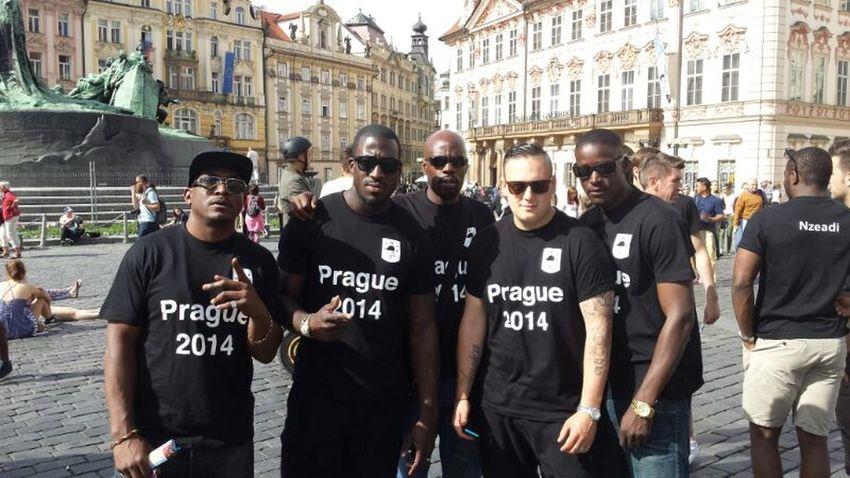 Prague is a beautiful city Praguelife Prague Old Town Throwbackthursday  BIFC Football Tour