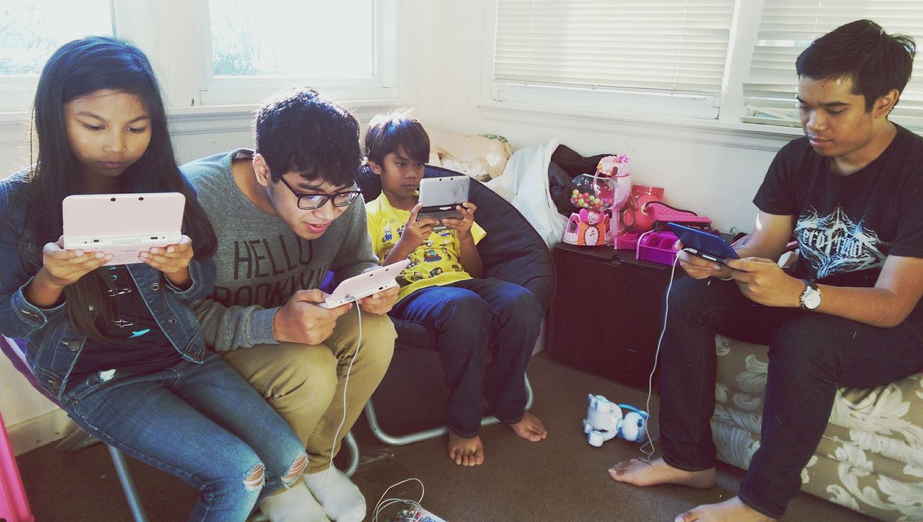 Sunday mornings Nintendo SuperSmashBros Family Time