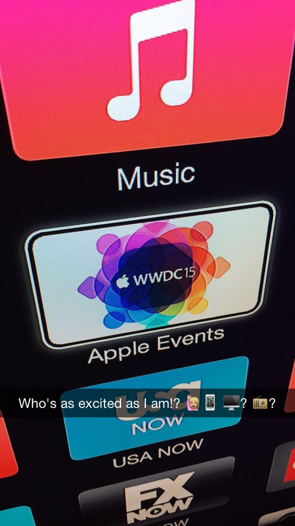 WWDC WWDC 2015 Snapchat Apple Inc. Anticipation