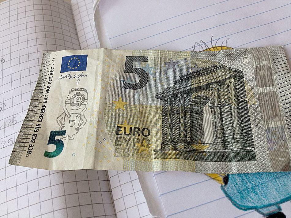 100happydays Day88 Money Minions Painting