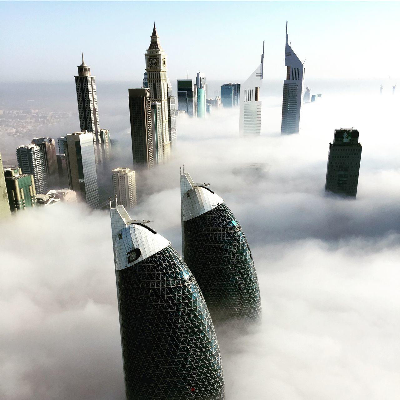 Beautiful stock photos of dubai, skyscraper, tall - high, tower, city