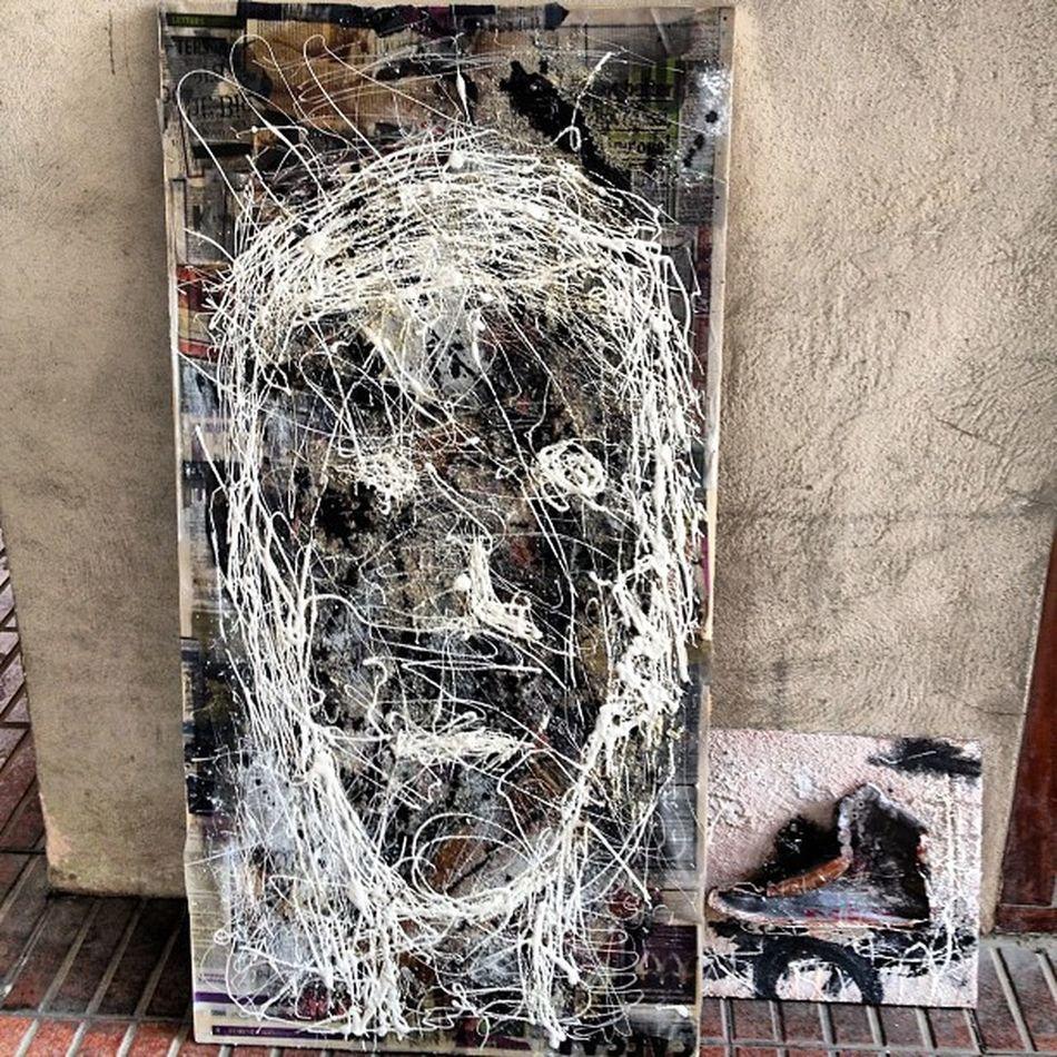 Autoretrato Negua Abstrato Arte impresionante instragram