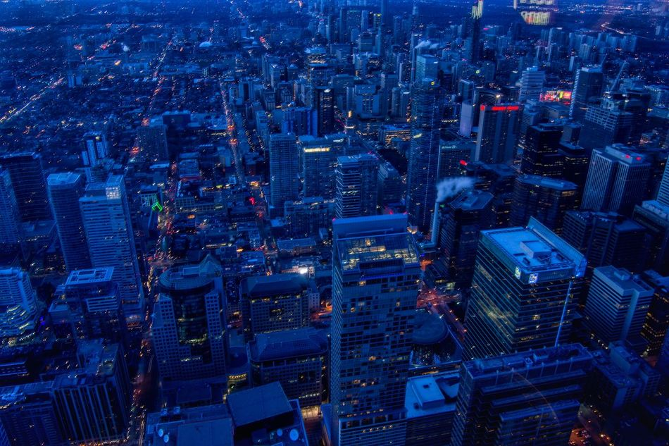 Skyscreaper Torontophotos Torontophotography Cityview Travel Destinations Outdoors No People Architecture Building Exterior Cityscape High Angle View CN TOWER Toronto Canada CN Tower - Toronto Cntower City CN Tower Night Illuminated Aerial View Skyscraper Cityscape Architecture City Dusk Dusk In The City
