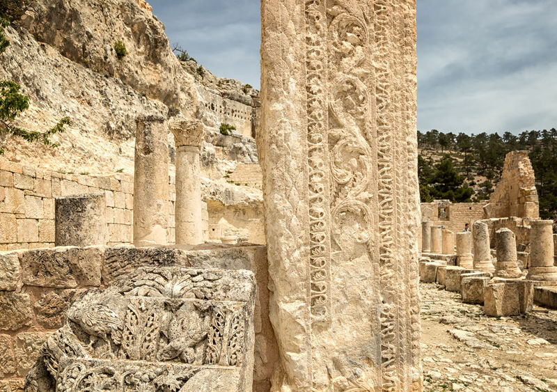 Alahan Monastery Alahan Alahan The Monastery Ancient Architecture Byzantine Byzantine Architecture Carvings In Stone Christianity Cliff Faith Historical Historical Sights Monastery Mountains Mut Nature Religious  Religious Architecture Ruins Scenics Stone Turkey